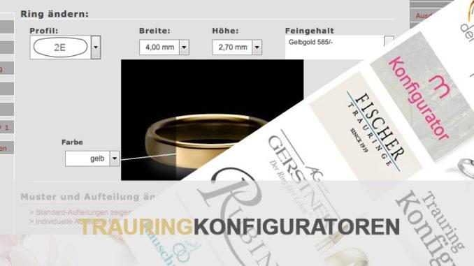 Trauringkonfiguratoren bei Juwelier Lehmkühler