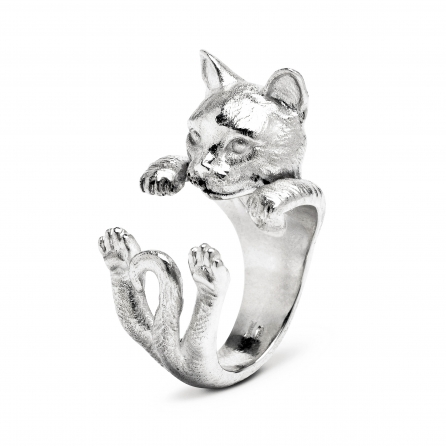 Cat-Fever-Katzenringe-anello-hug-europeo-silver