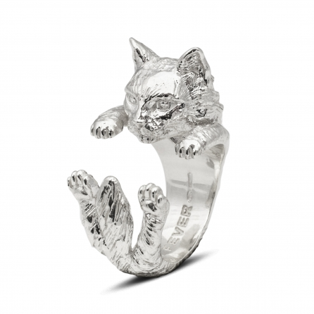 Cat-Fever-Katzenringe-anello-hug-norvegese-silver